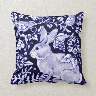 Rabbit Decorative Throw Pillows Zazzle