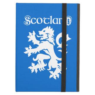 Blue & White Scottish Lion Rampant iPad Air Cases