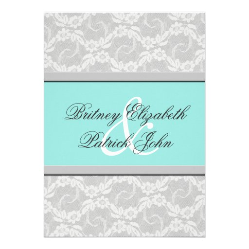 White And Silver Weding Invitations 028 - White And Silver Weding Invitations