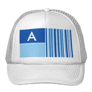 Blue & White Stripes; Striped Hats