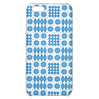 Blue White Welsh Tapestry Pattern iPhone 5c Case