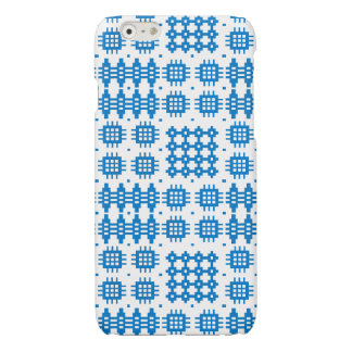 Blue White Welsh Tapestry Pattern iPhone 6 Case
