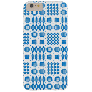 Blue White Welsh Tapestry Pattern iPhone 6+ Case