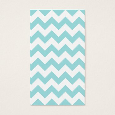 Beach Themed Blue White Zigzag Stripes Chevron Pattern Business Card