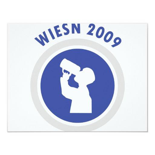 blue wiesn 2009 icon card