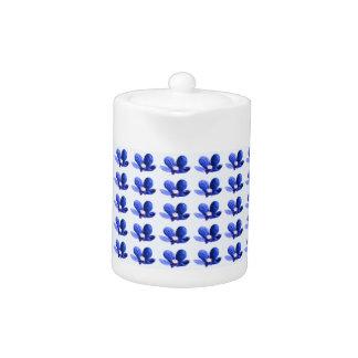 Blue Wild Flowers Teapot