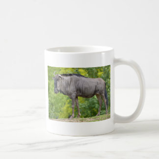 Blue wildebeest coffee mug