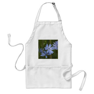 Blue Wildflowers Adult Apron
