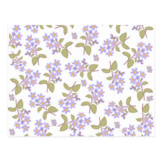 Blue Wildflowers Postcard