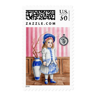 Blue Willow Bru Stamps
