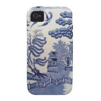 Blue Willow Case iPhone 4/4S Cover