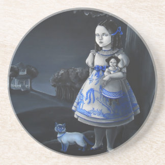 Blue Willow Coaster