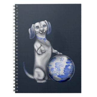 Blue Willow Dachshund Journals