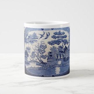 Blue Willow Large Mug 20 Oz Large Ceramic Coffee Mug