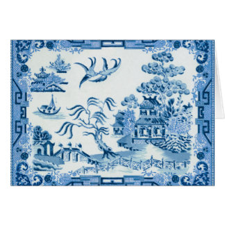 Blue Willow Note Card