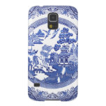Blue Willow pattern Samsung Cases Galaxy S5 Cases
