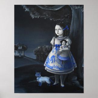 Blue Willow Print