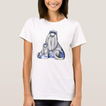 Blue Willow Shih Tzus Shirt
