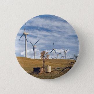 Blue Wind Button