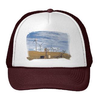 Blue Wind Cap Trucker Hat