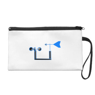Blue Wind Speed and Weather Vane Wristlets