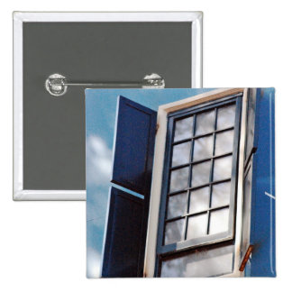 Blue window pins