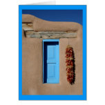 Blue Window of Taos Greeting Cards