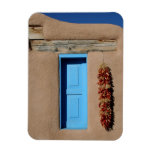 Blue Window of Taos Vinyl Magnets