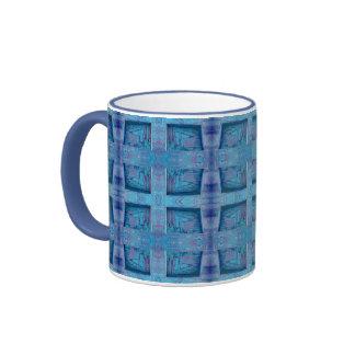blue windows ringer mug