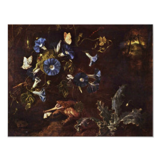 Blue Winds Toads And Insects By Schrieck Otto Mars Invitation