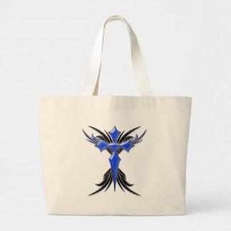 Blue Winged Cross Bag
