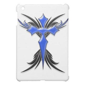 Blue Winged Cross iPad Mini Cover