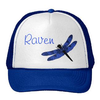 Blue Winged Dragonfly Trucker Hat