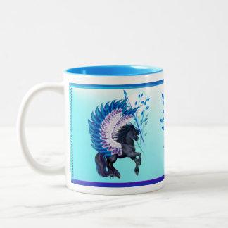 Blue Winged Pegasus Coffee Mug