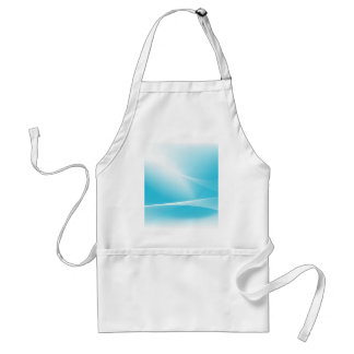 Blue Winter Abstract Background Adult Apron