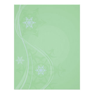Blue Winter Letter Head Letterhead