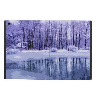 Blue Winter Pond iPad Air Case