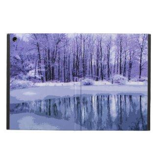 Blue Winter Pond
