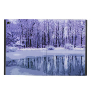 Blue Winter Pond Powis iPad Air 2 Case
