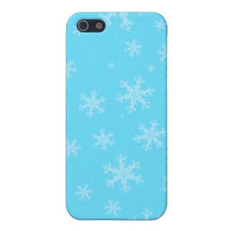 Blue Winter Snowflake iPhone 5 C Case