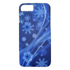 Blue Winter Snowflakes Christmas iPhone 8/7 Case
