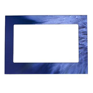 Blue Wish Flower Frame Magnet