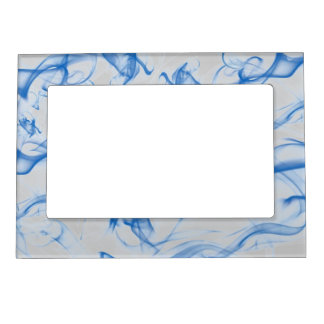 Blue Wisp Magnetic Photo Frame