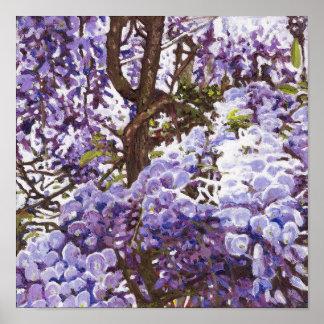 Blue wisteria 2011 poster