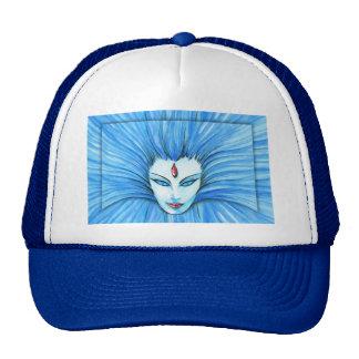 Blue Witch Trucker Hat