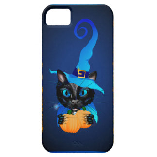 Blue Witch Kitty iPhone 5 Cases