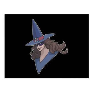 Blue Witch Postcard