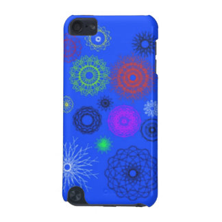 blue with different pattern iPod touch (5th generation) cover