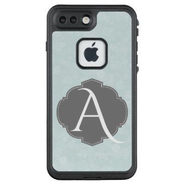 partridgelanestudio Blue With Grey Vintage Label LifeProof FRĒ iPhone 7 Plus Case