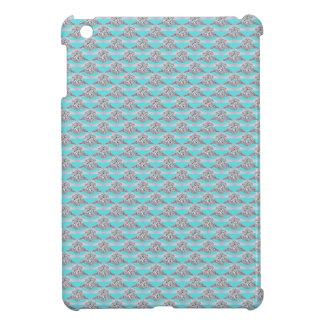 Blue With Platinum Diamond Ring iPad Mini Cases